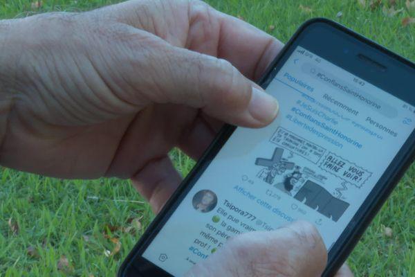 Les réseaux sociaux peuvent devenir des exutoires pour des internautes.