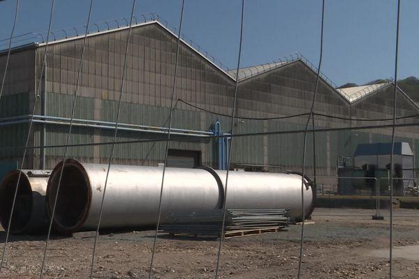 Le site de production de tubes en acier sans soudures de Déville-les-Rouen à l'arrêt