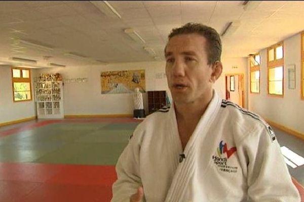 Cyril Jonard, champion de France handisport