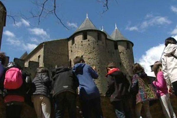 Visite ludique de la Cité de Carcassonne pendant les vacances scolaires
