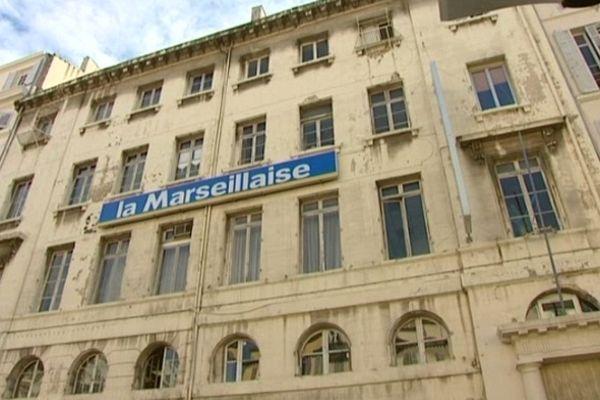 Le siège du journal à Marseille