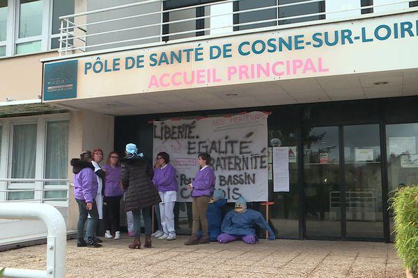 La clinique de Cosne-sur-Loire.