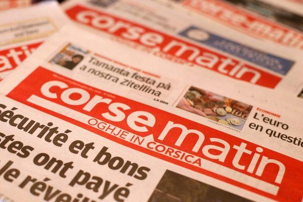 Une situation financière fortement dégradée, un dialogue partiel avec les actionnaires, les syndicats du journal Corse Matin alertent sur la situation de leur entreprise dans un communiqué publié lundi 12 juillet.