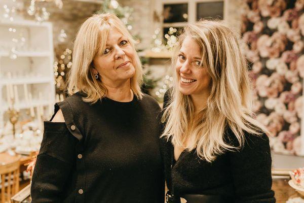 Anne Lorscheider et sa fille Emilie Beaujean, créatrices du Village Evénementiel