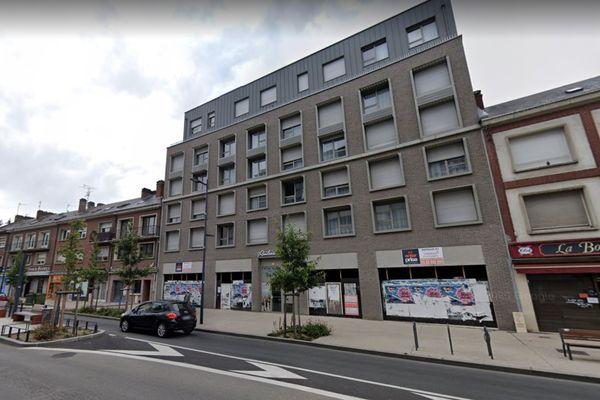 Les faits se sont déroulés dans cette résidence étudiante en face des Halles du Beffroi, à Amiens, vendredi 7 mai.