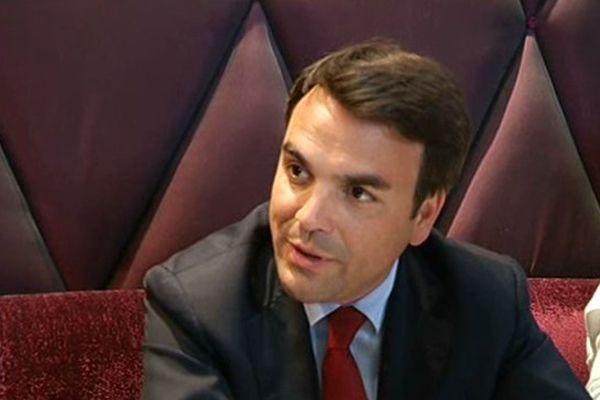 Thomas Thévenoud, député de la 1re circonscription de la Saône-et-Loire