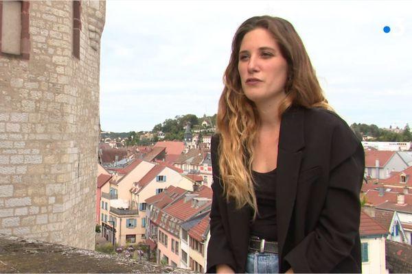 Jeanne Morel retrouve sa ville natale, Montbéliard.