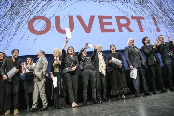 Cérémonie d'ouverture du festival Lumière, le 12 octobre 2019.