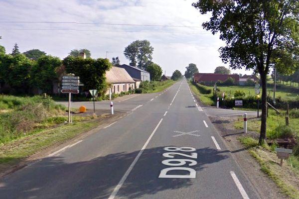 L'automobiliste a perdu le contrôle de son véhicule sur une ligne droite à Fressin