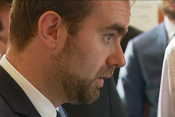 Le ministre des Collectivités territoriales, Sébastien Lecornu, en visite à Vesoul pour promouvoir le dispositif Action Cœur de Ville.