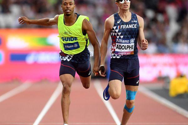 """Le """"guépard blanc"""" arrache l'argent sur l'épreuve du 100m ce jeudi 2 septembre"""