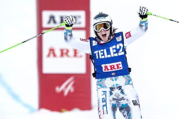 Alizée Baron, ici en Suède en février 2014.