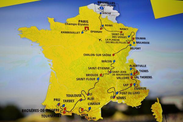 Le parcours du Tour de France 2019 a été dévoilé ce jeudi.