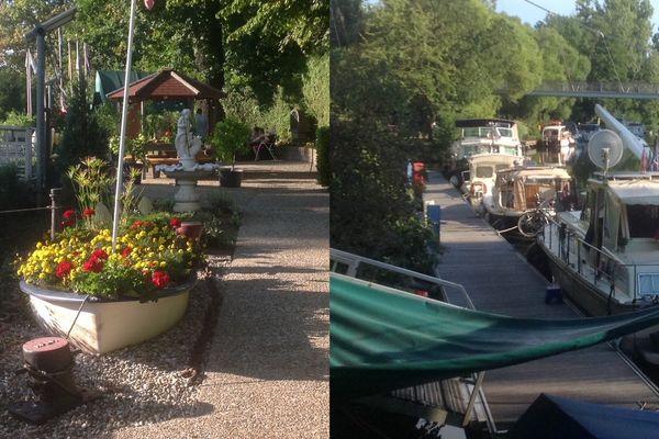 Le port de plaisance de Sarreguemines accueille jusqu'à 500 plaisanciers par saison estivale.