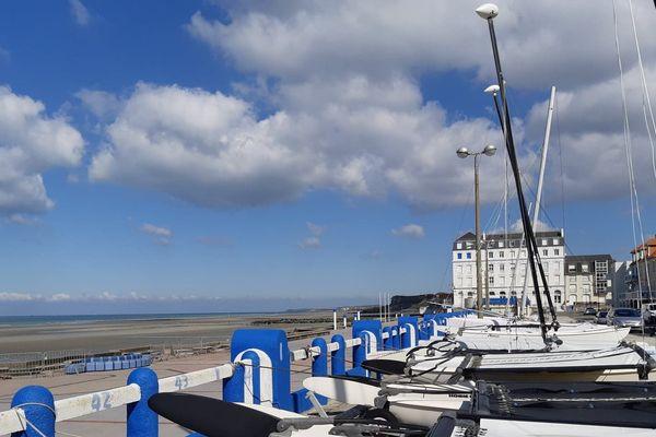 Grandes marées sur le littoral des Hauts-de-France