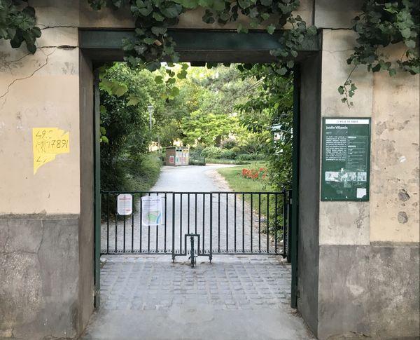 Le jardin Villemin, cité plusieurs fois dans le dossier d'instruction, servirait de point de rendez-vous pour les recruteurs.