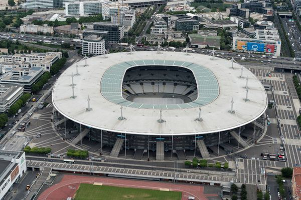 Le Stade de France vu du ciel, en 2019 (illustration).
