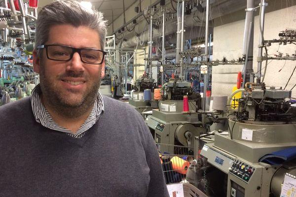 Aymeric Broussaud, actuel directeur de l'usine dans laquelle il a grandi