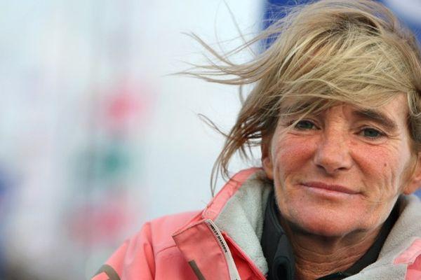 """Anne Caseneuve a remporté la Route du Rhum en 2014 dans la catégorie """"classe Rhum""""."""