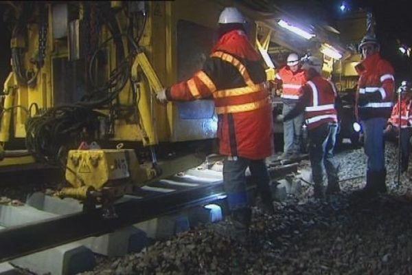 Les travaux sur la ligne Besançon-Belfort mobilisent 500 personnes