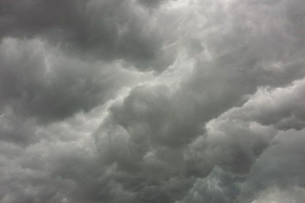 Ciel gris (image d'illustration).