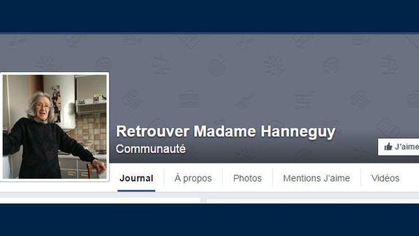 Une page Facebook intitulée « Retrouver Madame Hanneguy » a été créée pour retrouver une octogénaire dijonnaise disparue depuis le 11 novembre 2015.