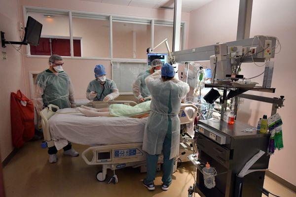 Huit patients sont actuellement hospitalisés en réanimation pour le Covid-19 en Corse.