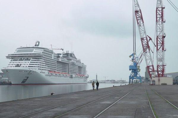 La construction navale fait toujours la fierté de Saint-Nazaire