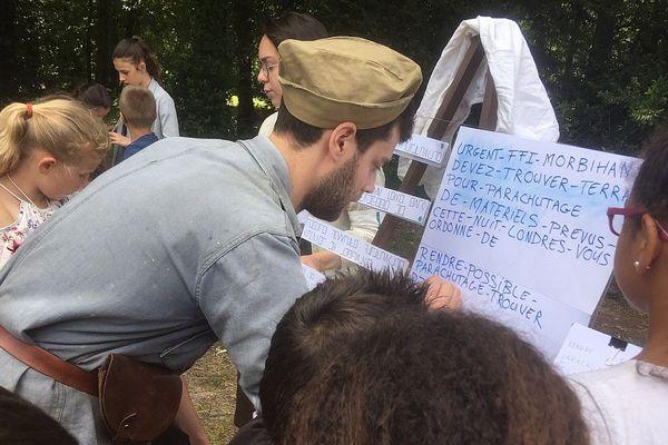 Les écoliers découvrent la Résistance au Musée de Saint-Marcel