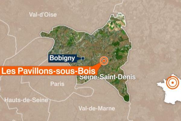 La Commune des Pavillons-sous-Bois, en Seine-Saint-Denis.