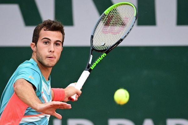 Paris, 30 septembre 2020. Le Toulousain Hugo Gaston avait réalisé l'exploit d'arriver en 8e de finale lors de l'édition 2020 de Roland-Garros.