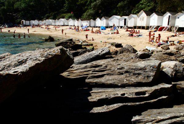 La plage des Dames au naturel
