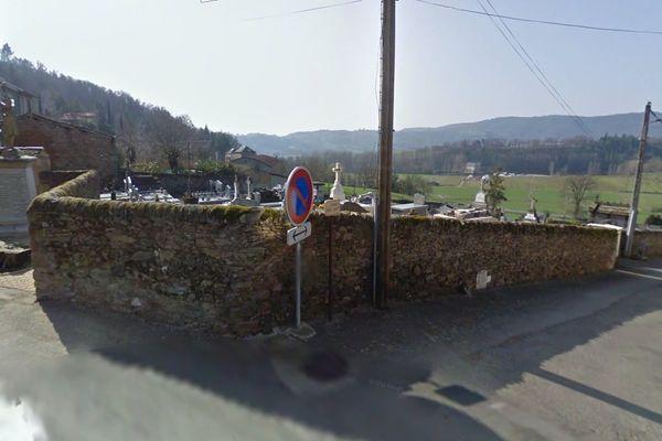 Le cimetière de Flagnac (Aveyron)