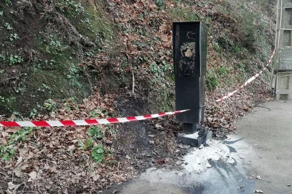 Le radar incendié à La Chapelle-Bouëxic