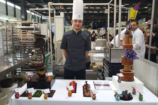 Romain Bert médaille d'or en boulangerie pâtisserie