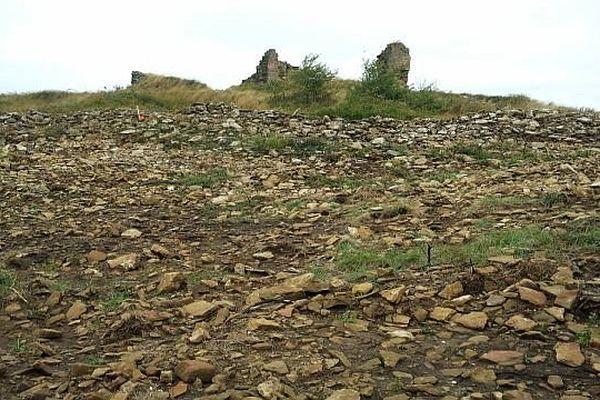 Bouriège (Aude) - un village détruit pour implanter des éoliennes - 17 septembre 2013.
