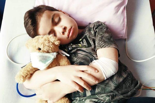 Sawban lors d'une hospitalisation