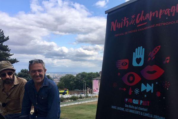 Les Innocents feront partie des invités d'honneur du festival Les Nuits de Champagne qui se déroulera à Troyes du 21 au 26 octobre prochain.