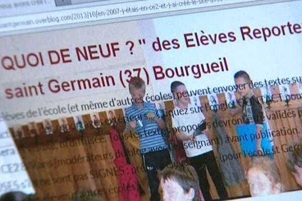 """Blog """" QUOI DE NEUF ? """" des Elèves Reporters Internet Ecole saint Germain (37) Bourgueil"""