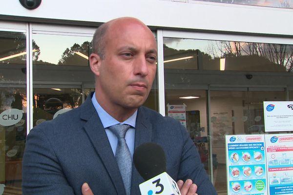 François Bérard, directeur général adjoint CHU Montpellier