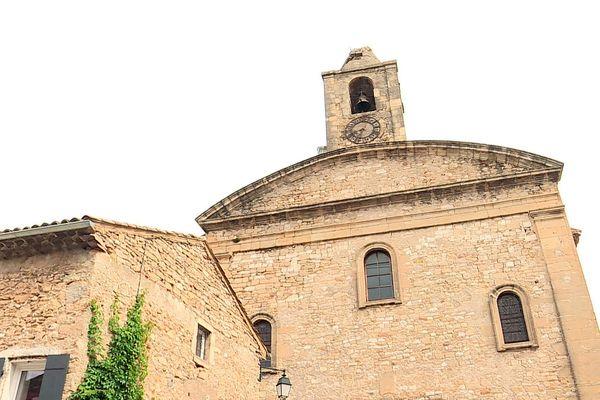 Gard : l'église de Saint-André-de-Roquepertuis touchée par la foudre, son clocher menace de s'écrouler - 27 septembre 2021.