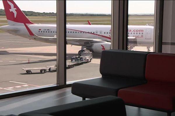 Avion sur le tarmac de l'aéroport de Montpellier, archives mai 2019