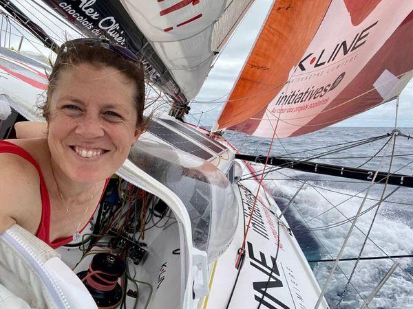 """""""Le Vendée Globe est vraiment une course mixte."""" Samantha Davies"""