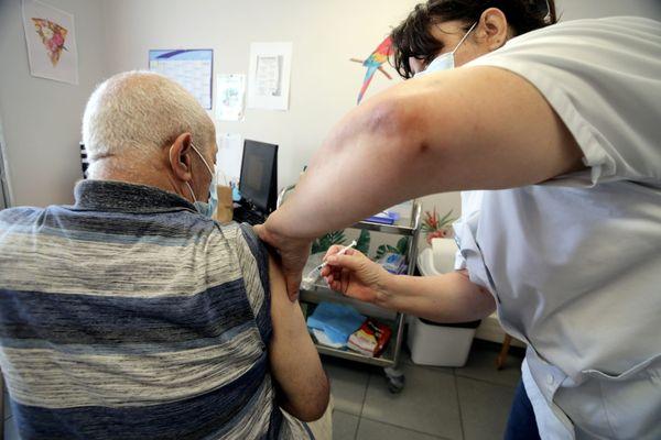 Opération de vaccination contre la Covid-19.