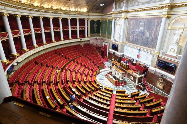 L'hémicycle de l'Assemblée nationale. Photo d'illustration (février 2020).