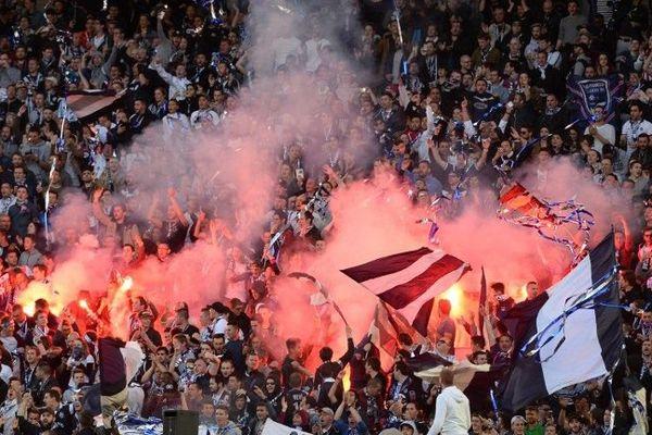 Des supporters des Girondins de Bordeaux