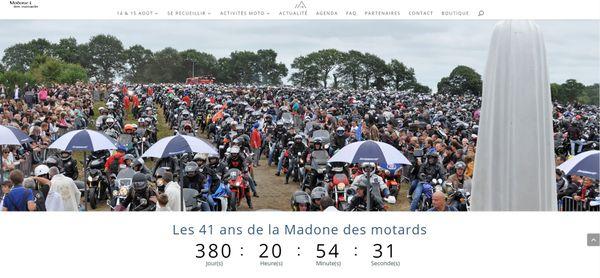 Le compteur du prochain pardon des motards a été recalé sur 2021