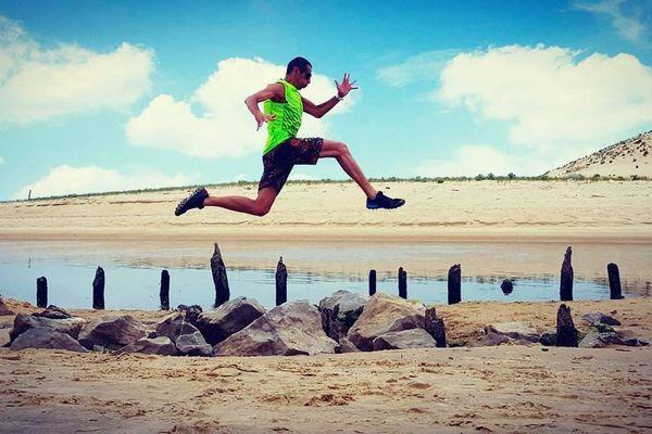 Un nouveau défi pour le marathonien Philippe Richet, traverser les Landes avec des élèves d'IME pour se dépasser et dépasser les clichés