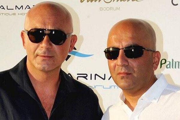 Mübariz Mansimov (à droite) est un riche armateur azerbaïdjanais.