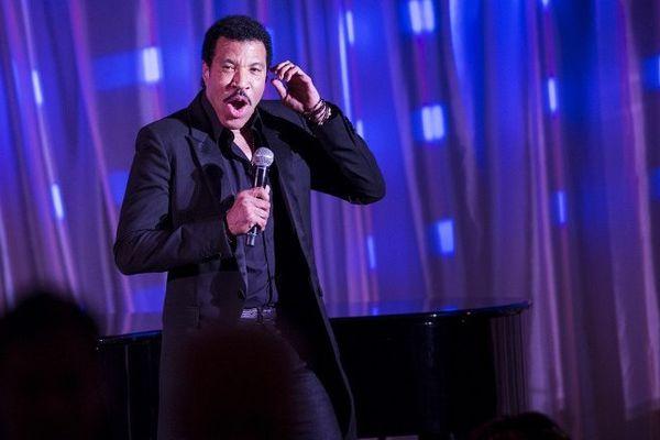 Lionel Richie en concert à Washington, en août 2014